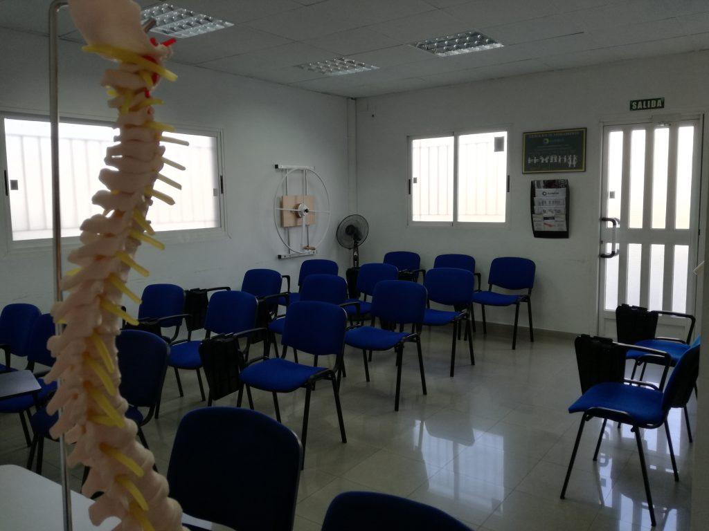 Aula Formación - Fisioterapia